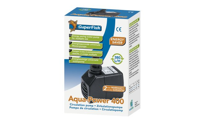 SUPERFISH Aquapower 400 - 380 l/h - afbeelding 1